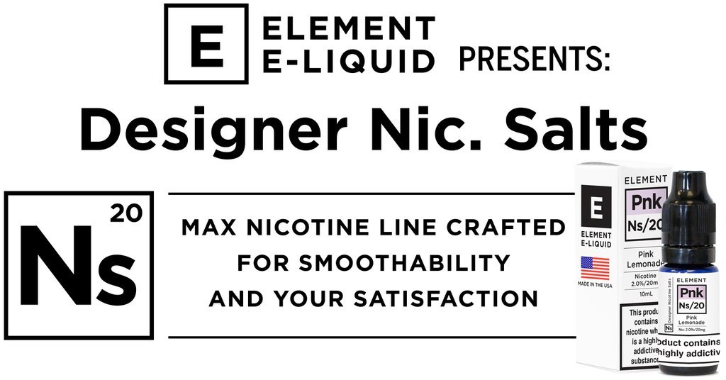 Element E-Liquid & FAR E-Liquid (NS20)